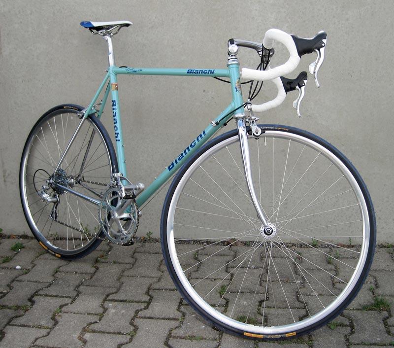 Alter Wein mit neuen Schläuchen   Stahlrahmen-Bikes