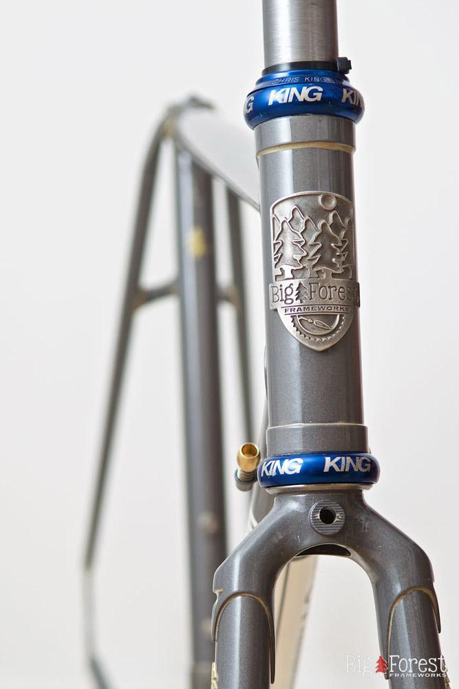 Flexibel mit Muffen sausen: Big Forest Lugged Road | Stahlrahmen-Bikes