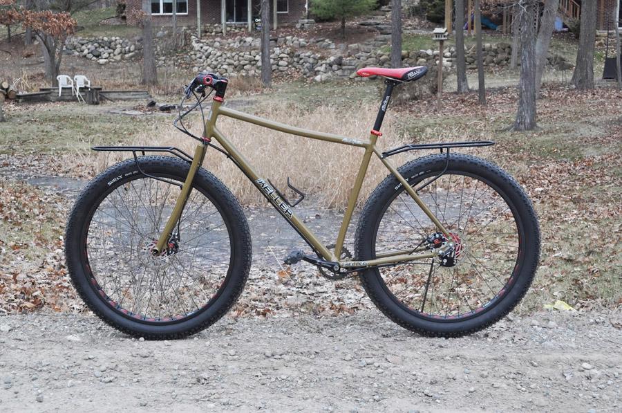 Halbfett: Bob Keller 29+ | Stahlrahmen-Bikes