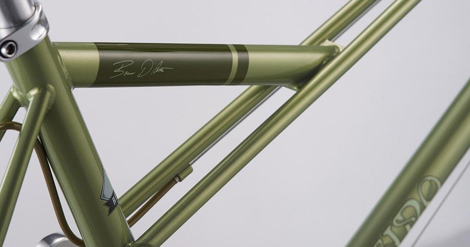 Auffrischung in kleinem Rahmen: Bruno Minivelo 2015   Stahlrahmen-Bikes