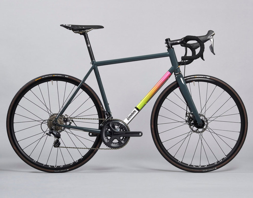 grosse qualit t in kleiner serie donhou signature steel stahlrahmen bikes. Black Bedroom Furniture Sets. Home Design Ideas