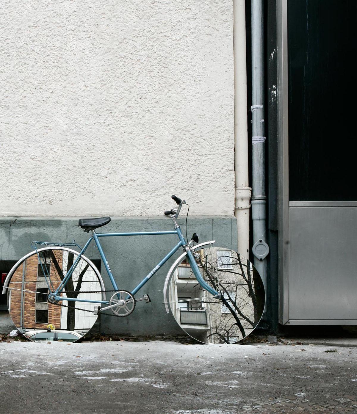 Stahlrahmen als Kunst-Rahmen | Stahlrahmen-Bikes
