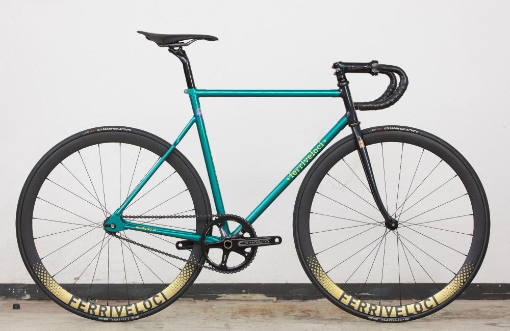 Bahn frei: Ferriveloci Cicli Milano   Stahlrahmen-Bikes