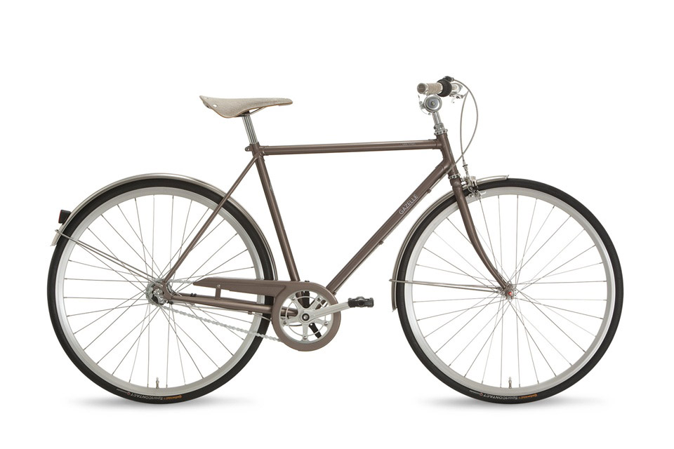 Stahlgazellen für die Stadt: Gazelle van Stael | Stahlrahmen-Bikes