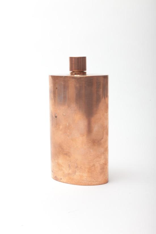 Horse-Kupferflasche