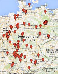 Stahlrahmen-Bikes in Europa