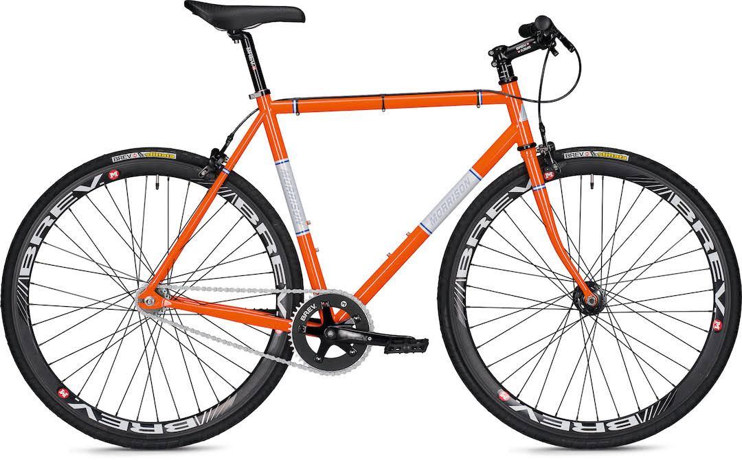Simpler Zweigang-Schick: Morrison Pursuit | Stahlrahmen-Bikes
