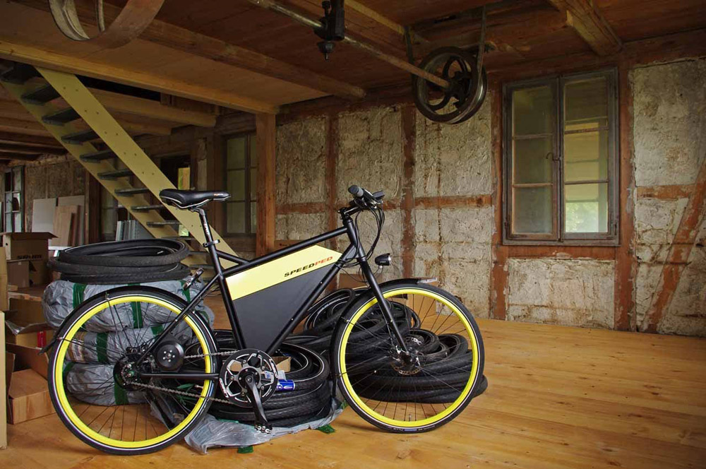 eigene stromliga speedped e bike stahlrahmen bikes. Black Bedroom Furniture Sets. Home Design Ideas