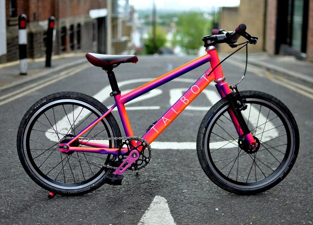 Kurze Halbwertszeit: Talbot Custom Kinderrad   Stahlrahmen-Bikes