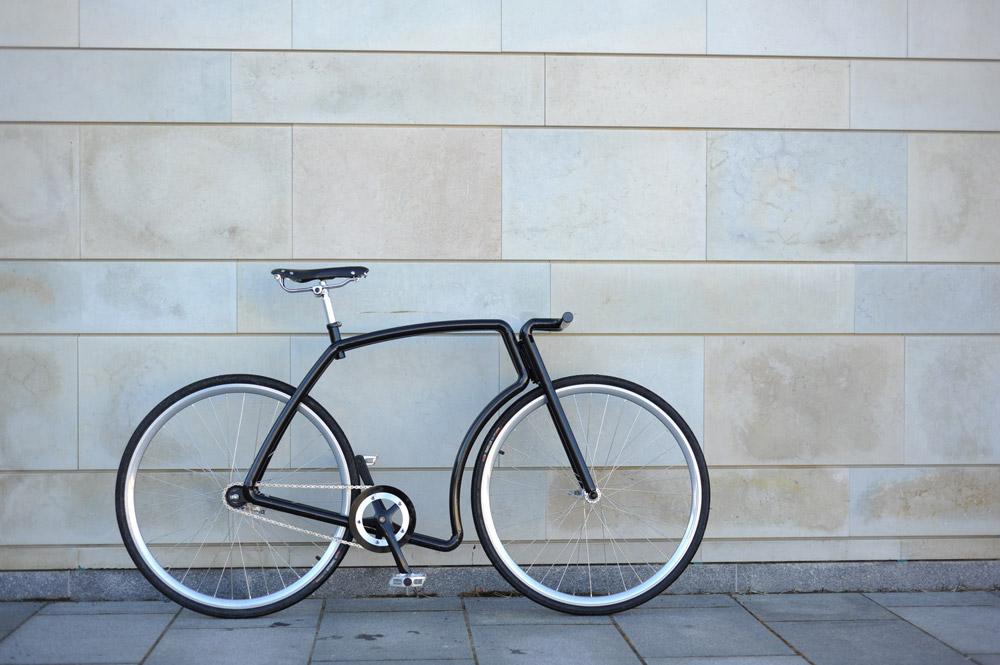 Noch edler durch die Stadt: Viks steel urban bike | Stahlrahmen-Bikes